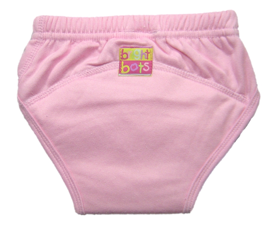 Bright Bots Washable Trainer Pants NEW PUL VERSION-Small-Pale Pink-0