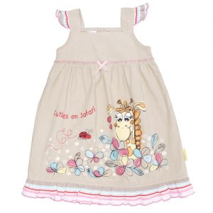 Hooliganskids Classic Safari Cuties on Safari Dress CSCS-0