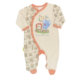 HooligansKids Monsters and Kisses Little Wild Ones Babygrow MKLW-0