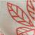 White/Coral Leaf