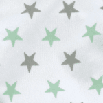 Mint/Grey Star